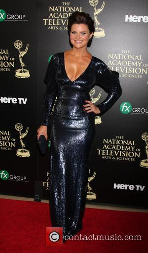 Heather Tom - Daytime Emmy Awards 2014 held at The Beverly Hilton Hotel - Arrivals - Beverly Hills, California, United...
