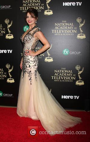 Jen Lilley - Daytime Emmy Awards 2014 held at The Beverly Hilton Hotel - Arrivals - Beverly Hills, California, United...