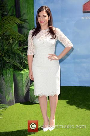 America Ferrera - Gala Screening of 'How To Train Your Dragon 2' held at Vue West End - Arrivals -...