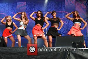 The Saturdays - The Saturdays perform at North East Live 2014 - Sunderland, United Kingdom - Sunday 22nd June 2014