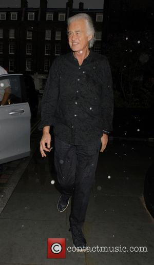 Jimmy Page - Celebrities visit Chiltern Firehouse restaurant in Marylebone - London, United Kingdom - Monday 23rd June 2014