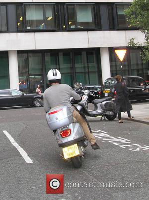 Jason Donovan - Forget chauffeurs and limousines, Jason Donovan has found an economical way to scoot around London as he...