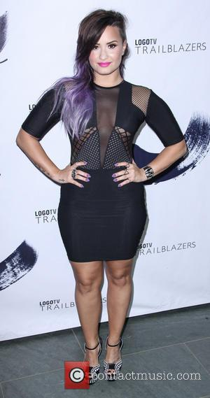 Demi Lovato - LOGO TV's 1st Annual Trailblazers event at the Cathedral of St. John the Divine - New York,...