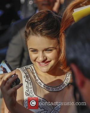 Joey King - Premiere of Focus Features' 'Wish I Was Here' - Outside Arrivals - Los Angeles, California, United States...