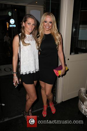 Liz McLarnon - Celebrities attend the launch of Centre Court at The O Bar - London, United Kingdom - Monday...