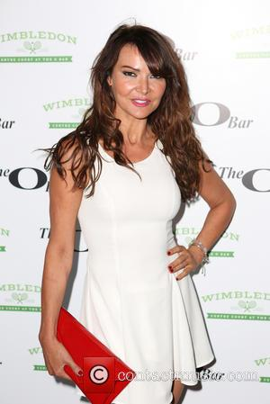 Lizzie Cundy - Celebrities attend the launch of Centre Court at The O Bar - London, United Kingdom - Monday...