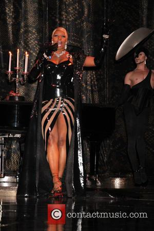 NeNe Leakes - NeNe Leakes performing at rehearsals as guest star in Cirque du Soleil's sexy Zumanity show at New...