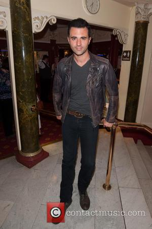 Darius Campbell - Press night for 20th Century Boy held at the New Wimbledon Theatre - Arrivals. - London, United...