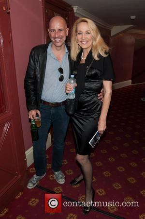 Jerry Hall and Armand Leroi - Press night for 20th Century Boy held at the New Wimbledon Theatre - Arrivals....