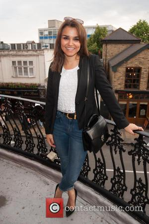 Samantha Barks - Press night for 20th Century Boy held at the New Wimbledon Theatre - Arrivals. - London, United...