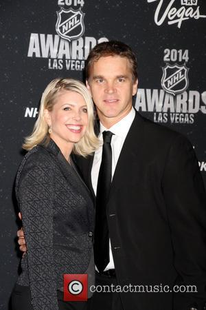 Luc Robitaille and Stacia Robitaille