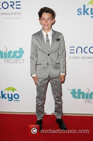 Nolan Gross - 5th Annual Thirst Gala hosted by Jennifer Garner in partnership with Skyo and Relativity's \Earth To Echo\...