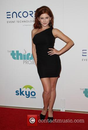 Renee Olstead - 5th Annual Thirst Gala hosted by Jennifer Garner in partnership with Skyo and Relativity's \Earth To Echo\...
