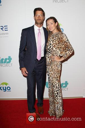 Rib HIllis and Elena Grinenko - 5th Annual Thirst Gala hosted by Jennifer Garner in partnership with Skyo and Relativity's...