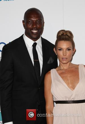 Terrell Owens and Eden Sassoon