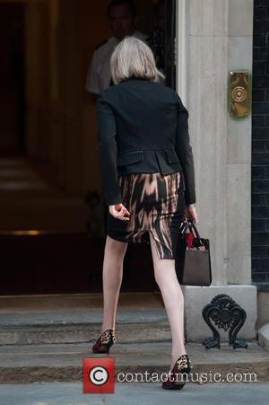 Theresa May - Politicians arrive for a Cabinet meeting at 10 Downing Street - London, United Kingdom - Tuesday 24th...