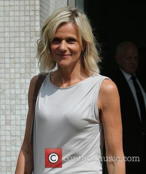 Linda Barker - Linda Barker outside ITV Studios - London, United Kingdom - Tuesday 24th June 2014