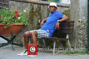 Samuel L. Jackson - Magic Johnson and Samuel L. Jackson relaxing in Portofino - Portofino, Italy - Tuesday 24th June...