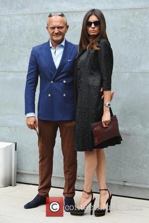 Giorgio Armani and Andrea Pucci