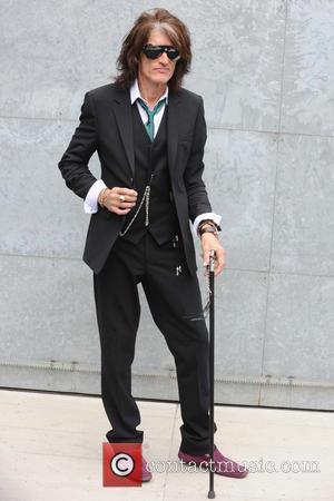 Joe Perry - Milan Fashion Week Menswear Spring/Summer 2015 - Roberto Cavalli - Backstage - Milan, Italy - Tuesday 24th...