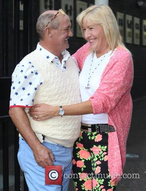 Brendan O'Carroll and Jennifer Gibney - Celebrities at the ITV studios - London, United Kingdom - Tuesday 24th June 2014