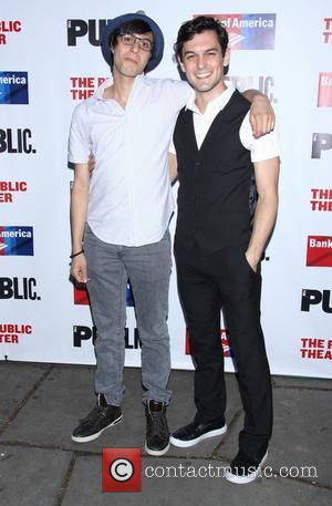 Gideon Glick and Wesley Taylor - The Public Theater Annual Gala at the Delacorte Theater - Arrivals - New York,...