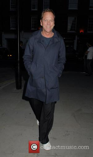 Kiefer Sutherland - Celebrities at the Chiltern Firehouse restaurant in Marylebone - London, United Kingdom - Wednesday 25th June 2014