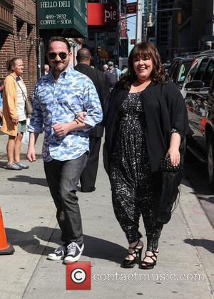 Melissa McCarthy - Melissa McCarthy visits the Late Show with David Letterman in NYC - New York, New York, United...