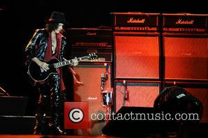 Joe Perry - Aerosmith performs at the Fiera Milano Rho