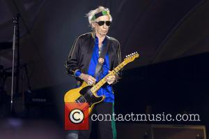 Keith Richards (The Rolling Stones) - The Rolling Stones performing in Madrid - Madrid, Madrid, Spain - Wednesday 25th June...