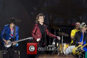 Ron Wood, Mick Jagger, Charlie Watts and Keith Richards (The Rolling Stones)