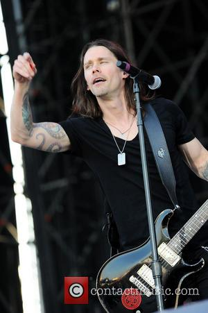 Miles Kennedy - Alter Bridge performing live in concert at Fiera Milano Rho - Milan, Italy - Wednesday 25th June...