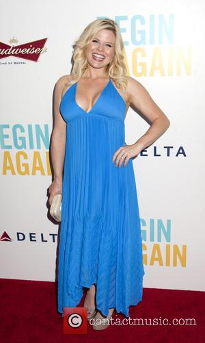 Megan Hilty - The New York premiere of Begin Again at the SVA Theatre - Arrivals. - New York City,...
