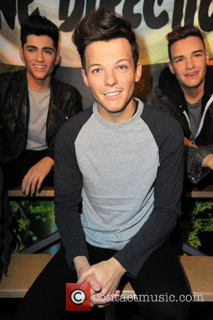One Direction and Louis Tomlinson Waxwork