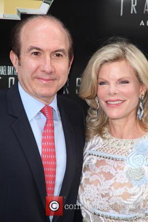 Philippe Dauman and Deborah Dauman - New York premiere of 'Transformers: Age Of Extinction' at the Ziegfeld Theatre - New...