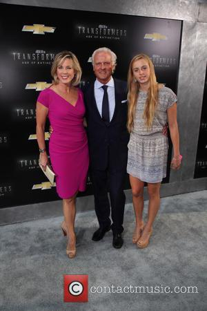 Transformers, Deborah Norville, Karl Wellner and Mikaela Wellner