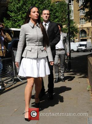 Tulisa Contostavlos - Tulisa Contostavlos and Mike GLC seen at Southwark Crown Court in London. - London, United Kingdom -...