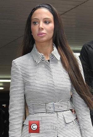 Tulisa Contostavlos - Tulisa Contostavlos leaving Southwark Crown Court - London, United Kingdom - Wednesday 25th June 2014