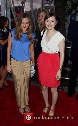 Louisa Krause and Libby Woodbridge