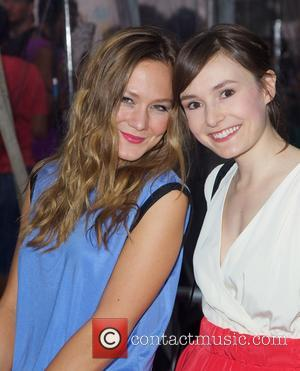 Louisa Krause and Libby Woodbridge - 'Begin Again' premiere at the SVA Theater - New York City, New York, United...