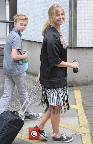 Samantha Womack - Celebrities outside the ITV studios - London, United Kingdom - Thursday 26th June 2014