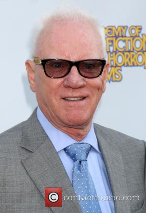 Malcolm McDowell - Saturn Awards 2014 - Arrivals - Los Angeles, California, United States - Thursday 26th June 2014