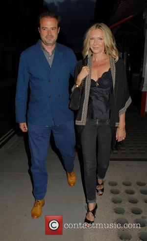 Jamie Theakston and Sophie Siegle - Celebrities at Chiltern Firehouse in Marylebone - London, United Kingdom - Friday 27th June...