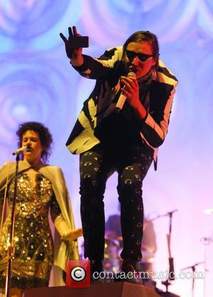 Arcade Fire and Win Butler - Glastonbury Festival 2014 - Performances - Day 2 - Arcade Fire - Glastonbury, United...
