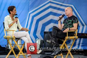 Robin Roberts, Sting and Gordon Sumner - ABC's Good Morning America Summer Concert Series held at Central Park - New...
