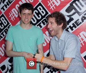 Zach Woods and Thomas Middleditch - The 16th Annual Del Close Improv Comedy Marathon Press Conference, presented by The Upright...