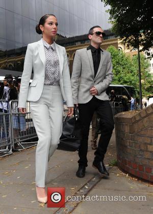 Tulisa Contostavlos and Gareth Varey - Tulisa Contostavlos arrives at Southwark Crown Court in London - London, United Kingdom -...