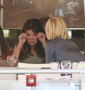Yolanda Foster and Lisa Vanderpump - The Real Housewives of Beverly Hills stars Lisa Vanderpump and Yolanda Foster film a...