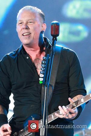james hetfield - Glastonbury Festival 2014 - Performances - Day 3 - Metallica - Glastonbury, United Kingdom - Friday 27th...