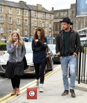 Leigh Janiak, Rose Leslie and Harry Treadaway